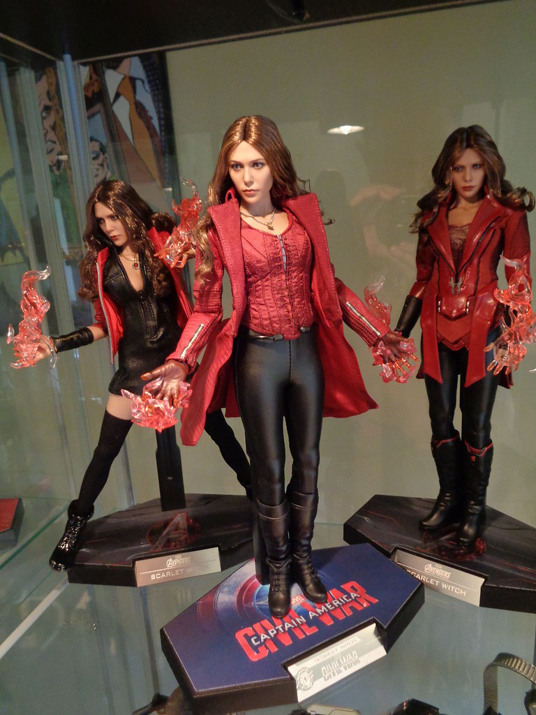 Infinity Sign Wallpaper Hd Scarlet Witch 1 6 Hot Toys Age Of Ultron Civil War