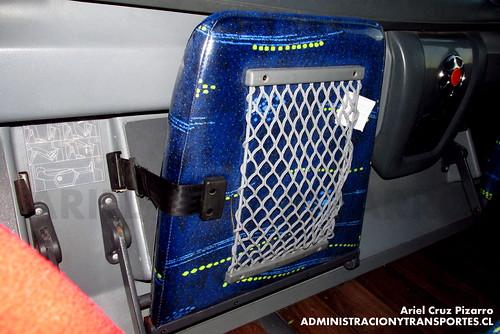 Buses ETM - Reposapies Cama premium