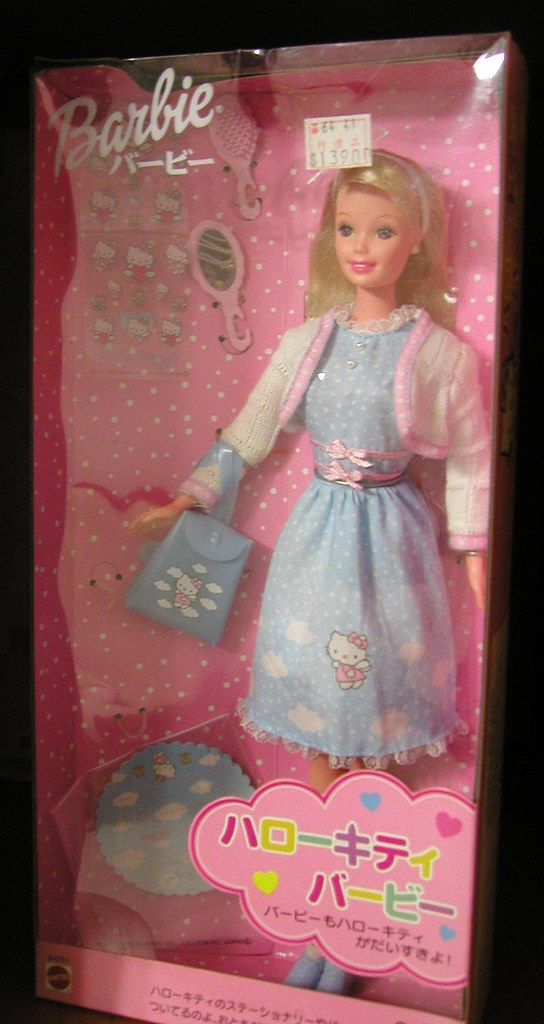 Baby Dolls Pics Hello Kitty Barbie Clearly A Japanese Conception And