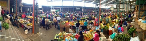 Silvia Market in Colombia