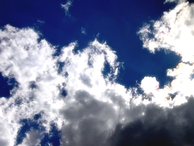 Background Wallpaper Quotes Clouds And Navy Blue Sky Kathy Flickr