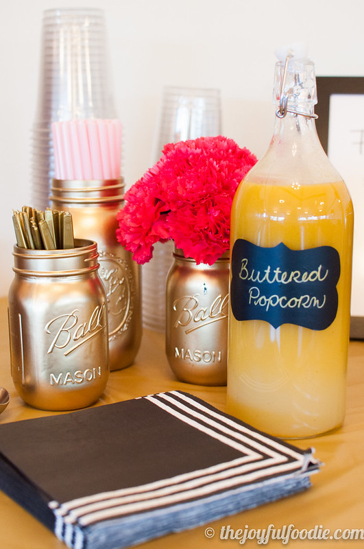 Slightly savory with just enough sweetness, this super easy Popcorn Soda Syrup makes delicious soda and floats, or use it as a tasty ice cream topping!