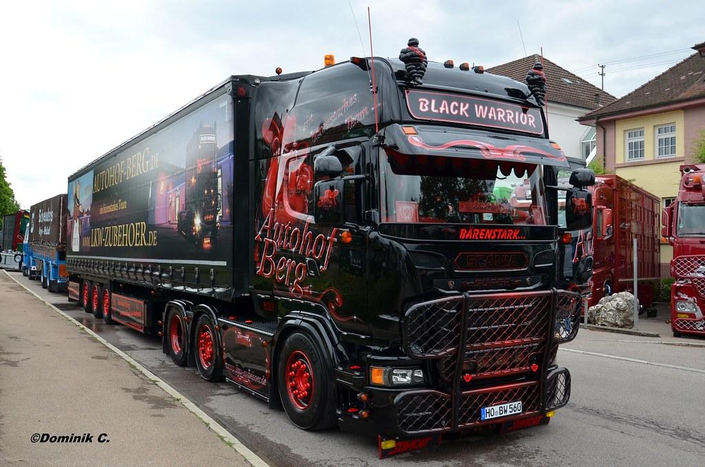 3d Wallpaper Cowboys Scania R Autohof Berg Black Warrior 2 Doniosrc Flickr