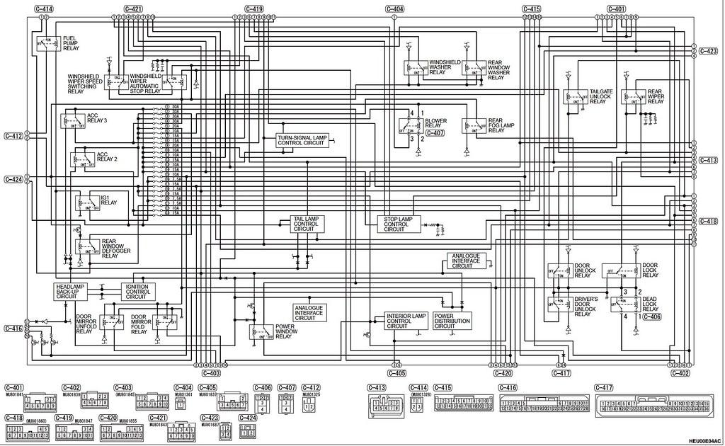 Mitsubishi Rvr Ecu Wiring Diagram Wiring Diagram