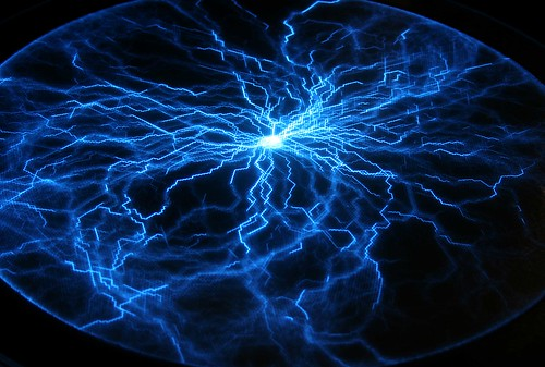 Magic Touch 3d Wallpaper Blue Sphere Of Lightning Plasmasphere This Is The