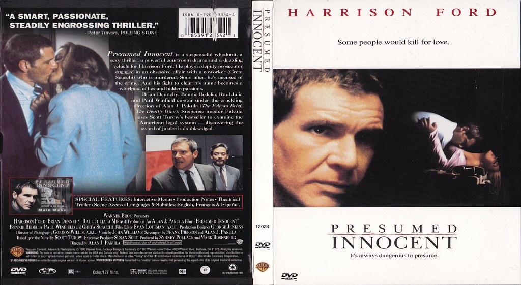 Presumed Innocent DVD art G2 DVD art scaled to Blu-ray siz\u2026 Flickr