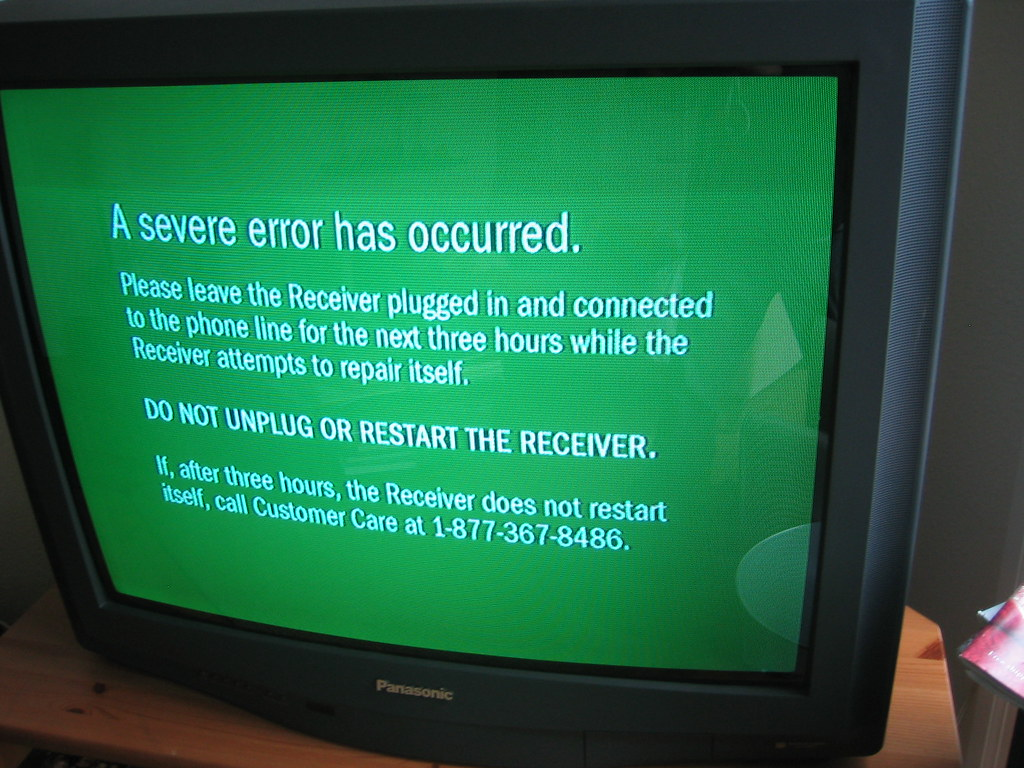 Morning 3d Wallpaper Tivo Green Screen Of Death This Morning I Experienced