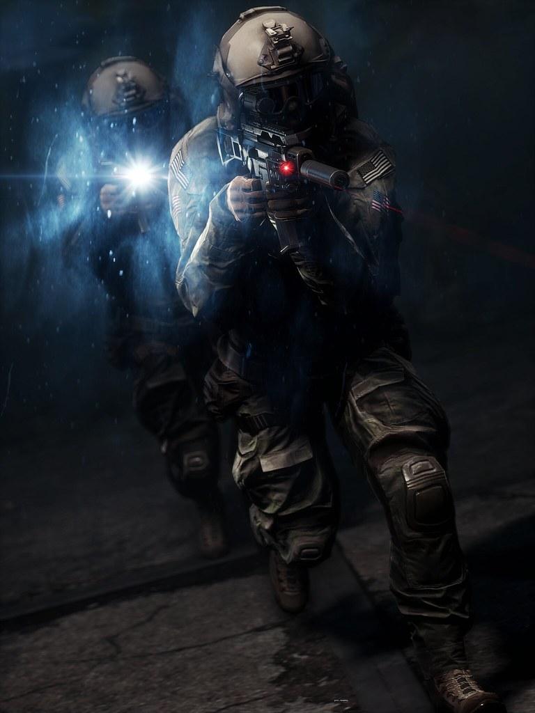 Cool 3d Wallpaper Black Quot Night Operators Quot Battlefield 4 Cte Sweetfx