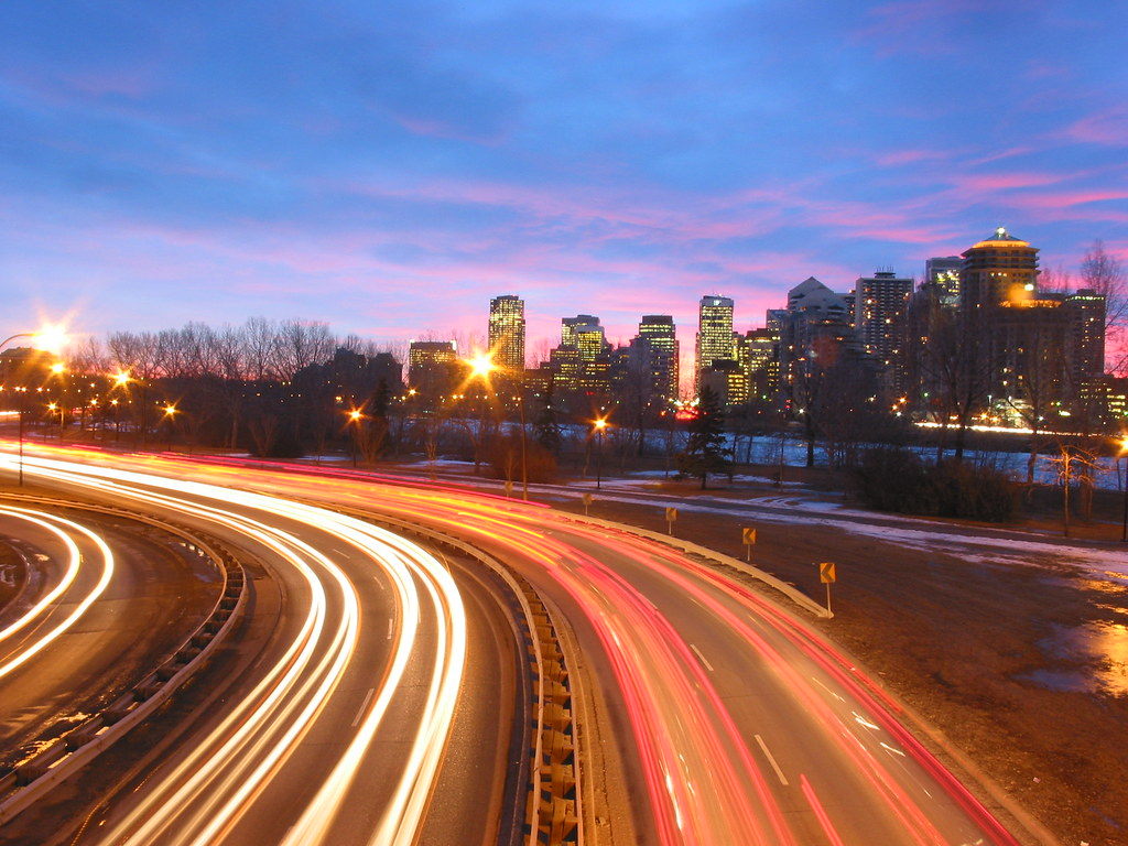 3d Moving Wallpaper Pictures Long Exposure Traffic Ten Second Exposure Of Morning