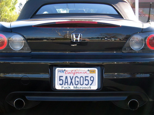 Cool License Plate Frame Great Car Great Attitude