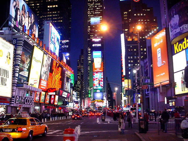 3d Wallpaper New York City Broadway And 42nd Street Last Night I Decided To Stop