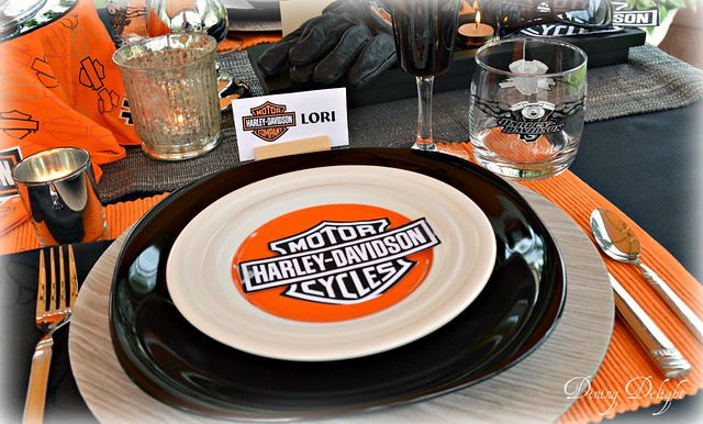 Dining Delight Harley Davidson Table For Father39s Day