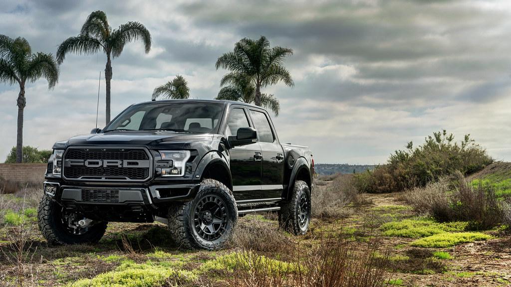 2017 Ford Raptor Hd Wallpaper Black Rhino York On A Ford Raptor 6 2017 Ford Raptor On