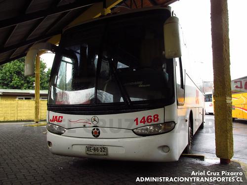 JAC - Pucón - Marcopolo Andare Class / Mercedes Benz (XE8632)