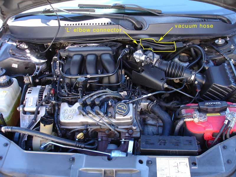 Brake system and vacum leak - Taurus Car Club of America  Ford