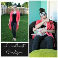 Laurelhurst Cardigan from Straight Stitch Designs - A Pattern Review