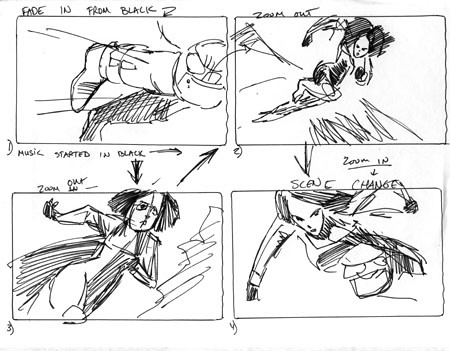 Anime storyboard This and all the other sketches in this c\u2026 Flickr - anime storyboard