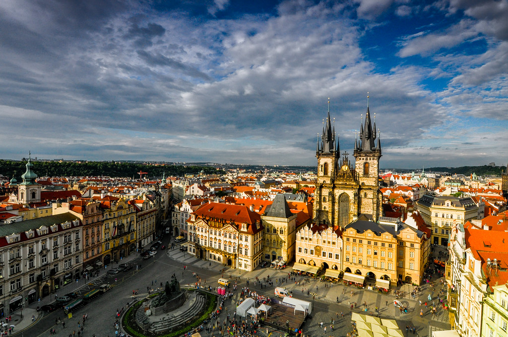 Some 3d Wallpapers The Grand Old Town Of Prague All The Roads Lead Here