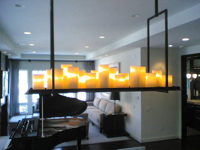 Chandelier Lamp Chandelier Of Candles | By Kevin Reilly For Holly Hunt. A