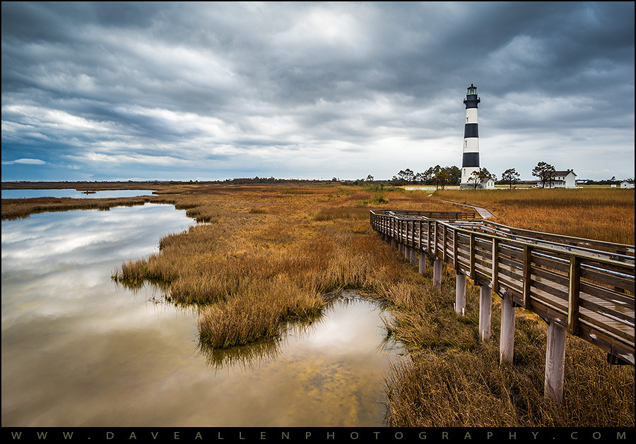 Fall Town Wallpaper Outer Banks North Carolina Bodie Island Lighthouse Landsca