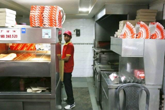 City Food - Wimpy Burgers, Aurobindo Market