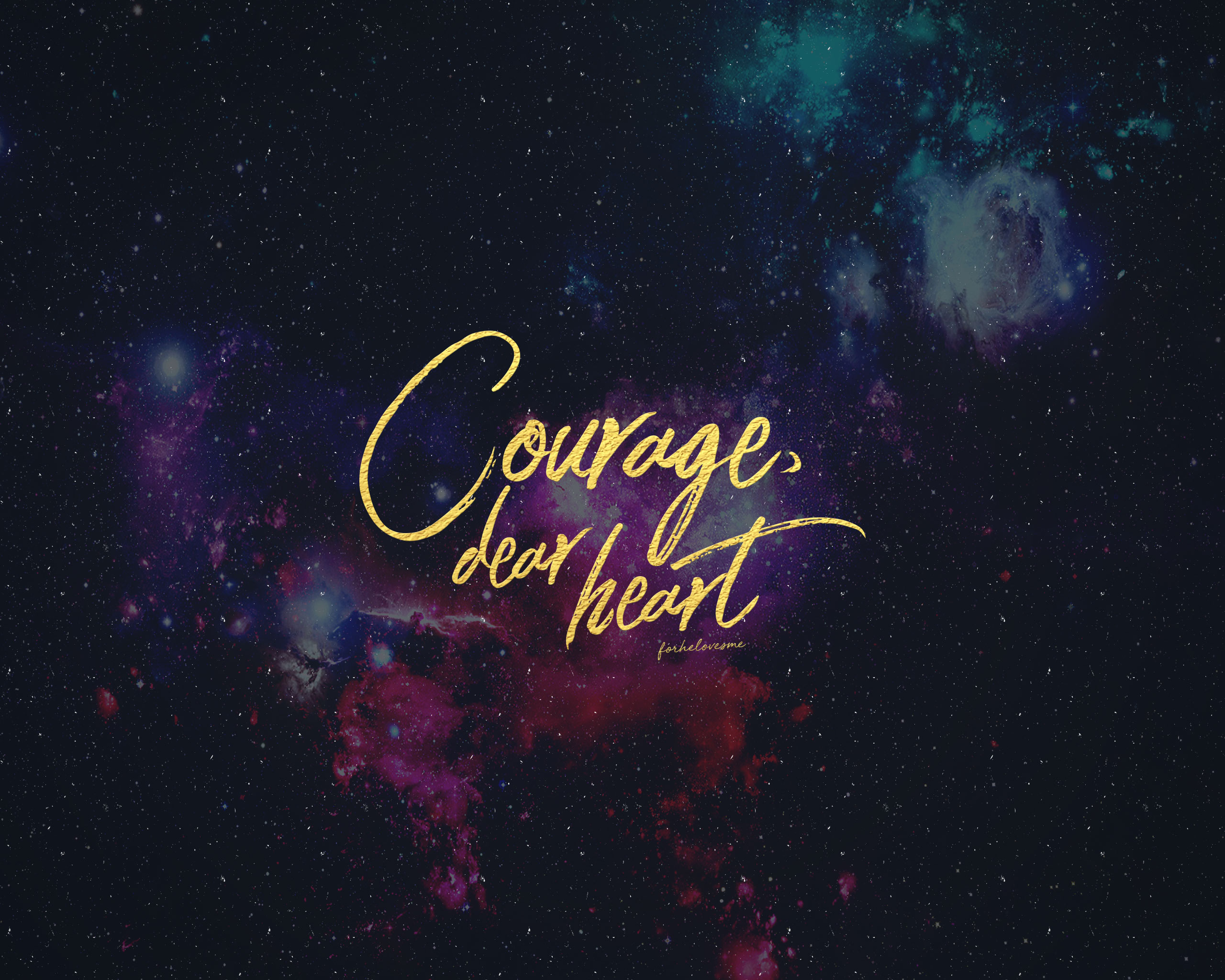 Iphone Wallpaper Bible Quotes For He Loves Me Courage Dear Heart