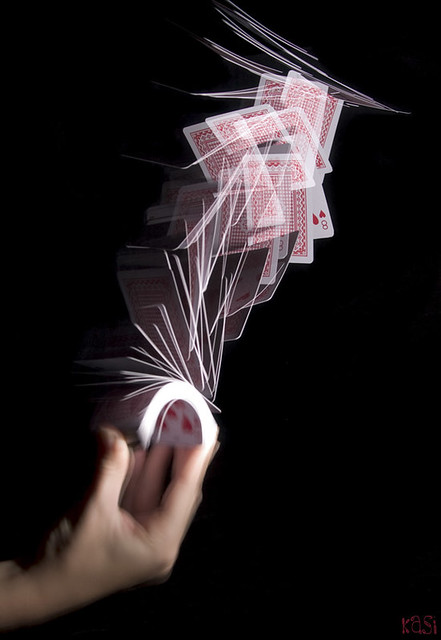 Blur 3d Wallpaper 52 Pick Up Cards Moving Under A Strobe Light Long