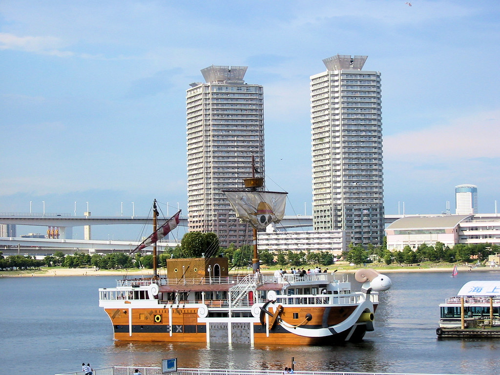 3d Devil Wallpaper Odaiba Quot Going Merry Quot The Boat From One Piece In Tokyo
