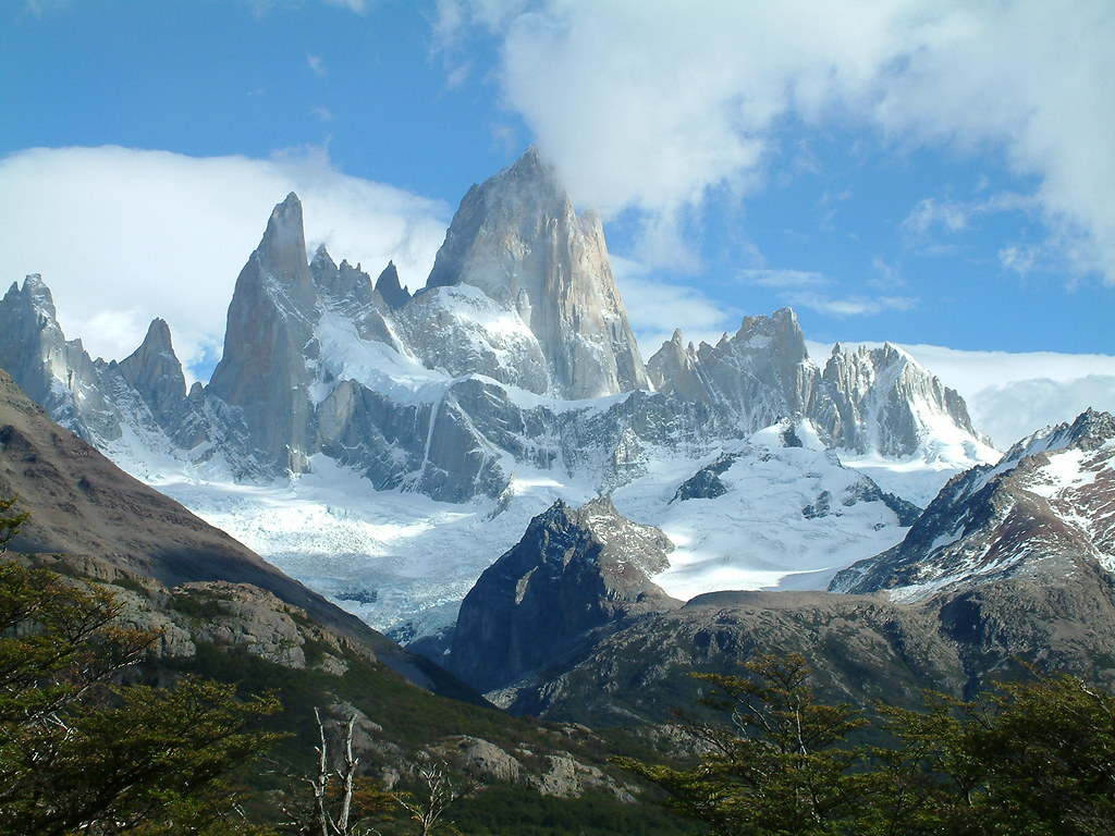 Free 3d Scenic Wallpaper Magical Landscape Glaciars National Park Argentina Flickr