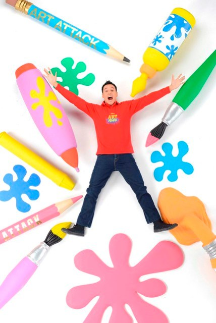 Disney's Art Attack - New Host Marco Borromeo (3) - Copy