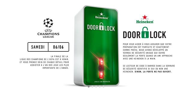 HEINEKEN DOORLOCK 3