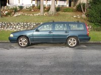 volvo for sale   1998 V70 AWD Volvo Wagon with roof racks ...