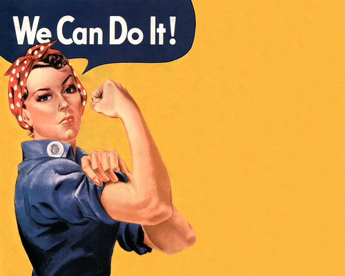White Wave 3d Wallpaper Rosie Desktop An Old U S Wartime Poster Used In An