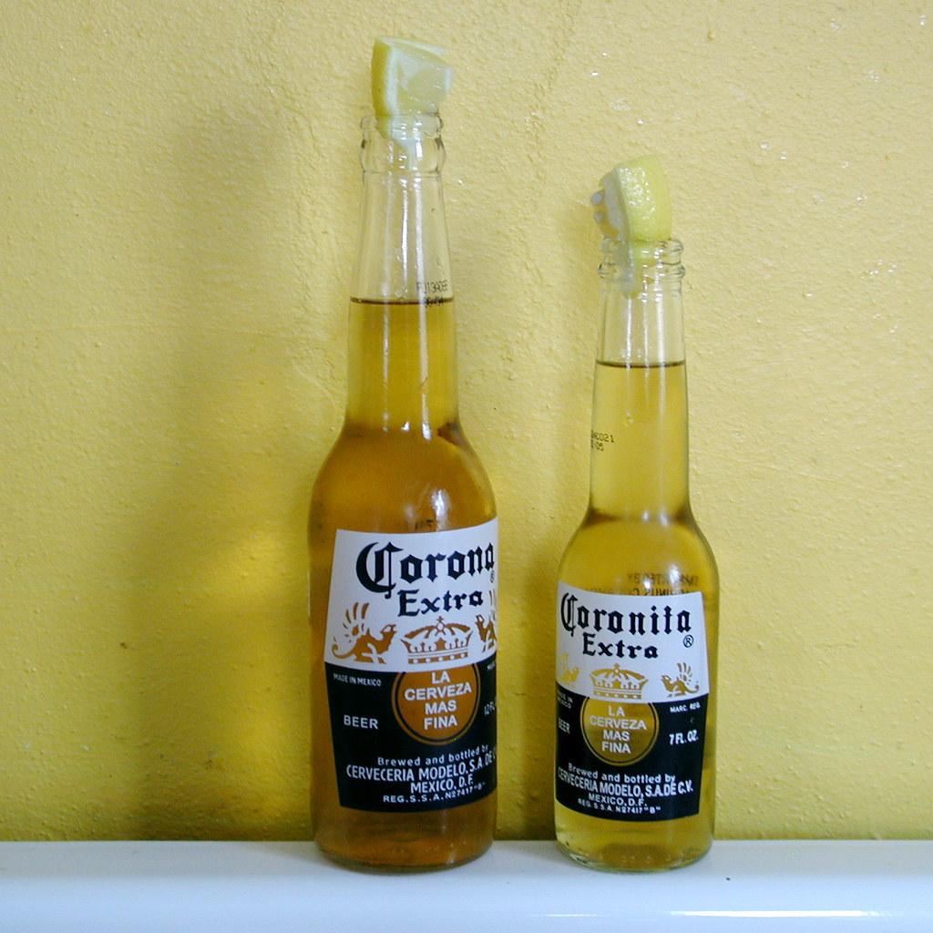 Big W Photo Sizes Corona And Coronita His And Her Beers One For Me One For