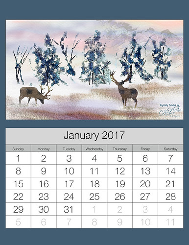HOW TO CREATE 2017 CALENDARS IN BOTH LIGHTROOM AND PHOTOSHOP