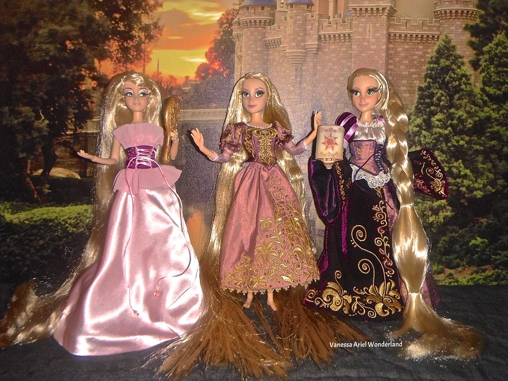 Disney Princess 3d Wallpaper Collection Of Rapunzel Designer Amp Fairytale Designer Dolls