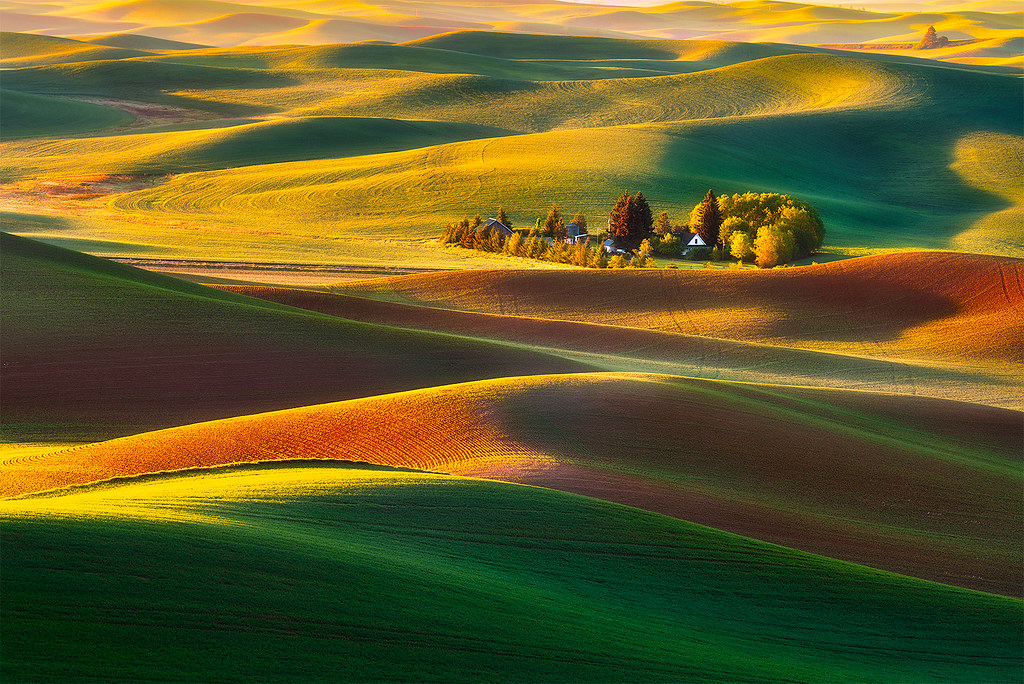 3d Wallpapers 1080p Free Download Classic Palouse A Classic View In Palouse Washington