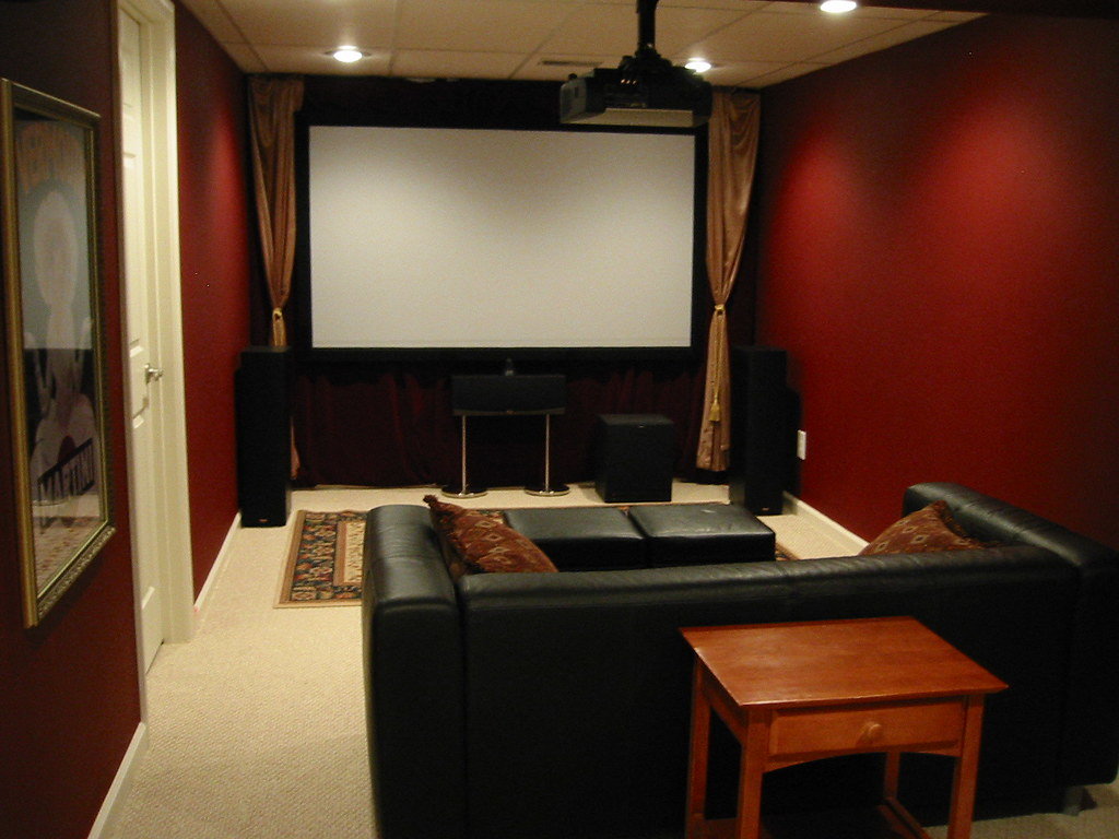 3d Wallpaper Hd For Living Room In India Here Is Another Photo Of The Movie Room The Movie Screen