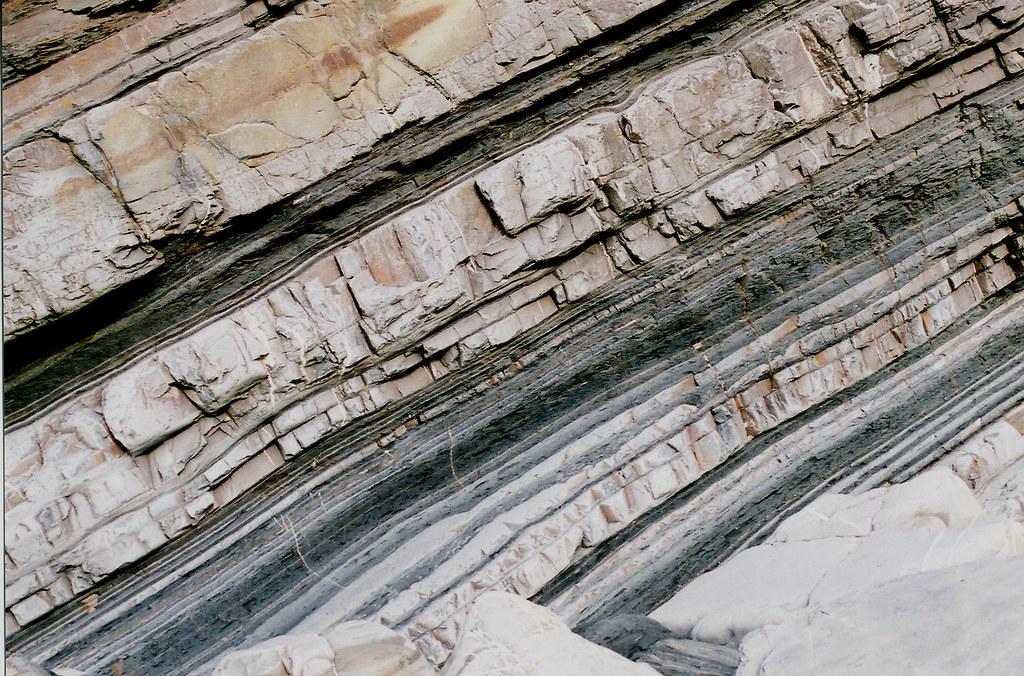 3d Wallpaper Turbidite Turbidite Beds A Sedimentary Rock From
