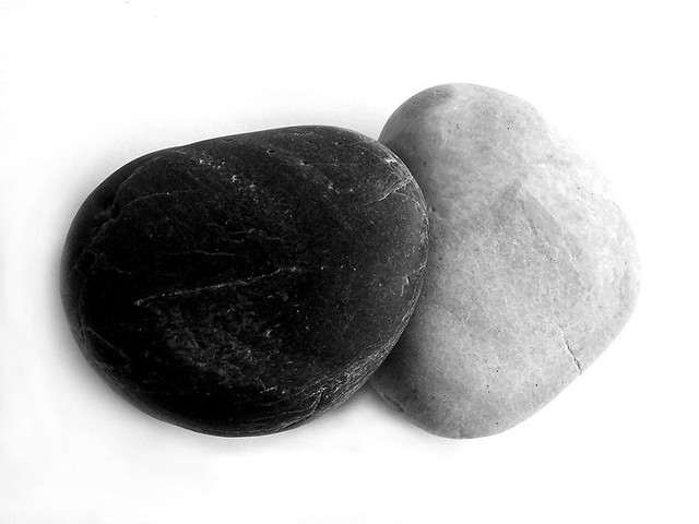Ikeah Black & White Rocks | This Is One Of The Only Shots I've