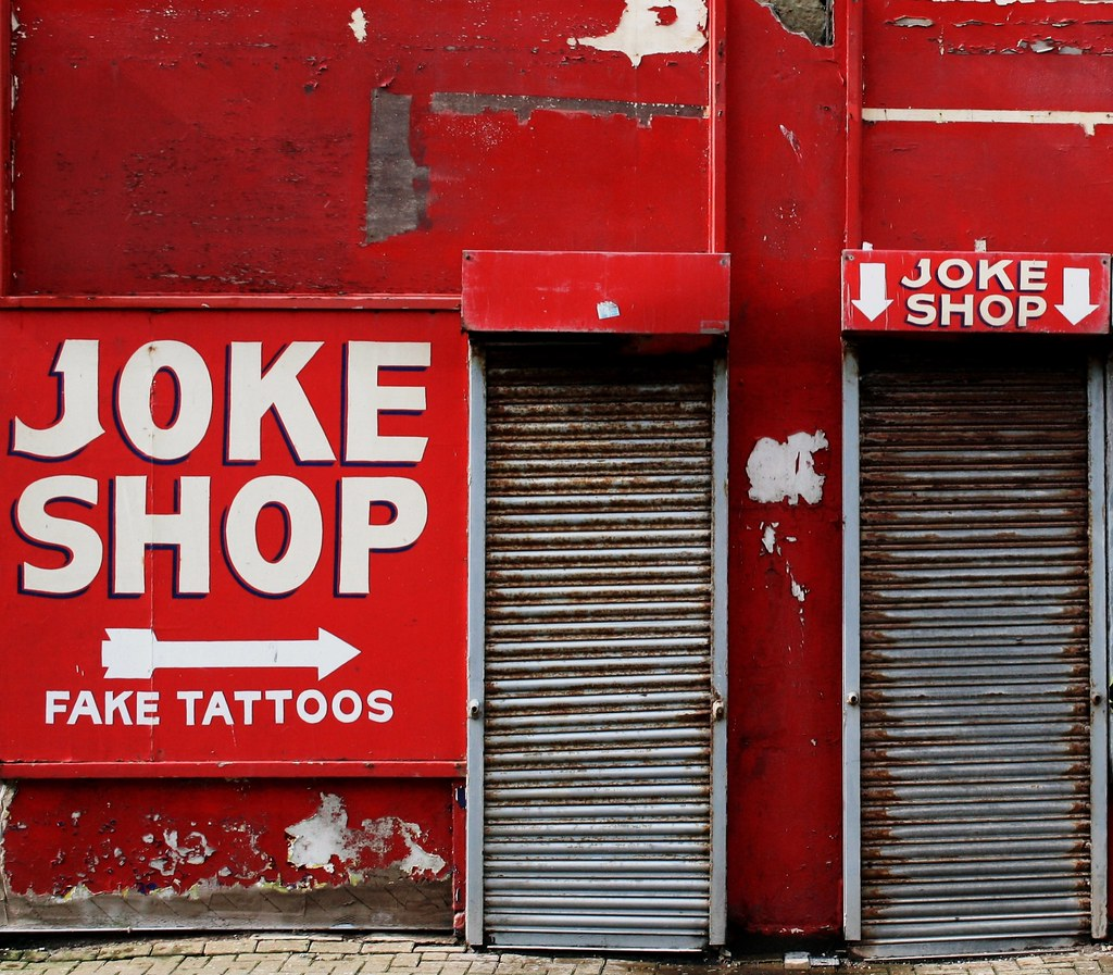 The Online Joke Shop Joke Shop Blackpool Rhisiart Hincks Flickr