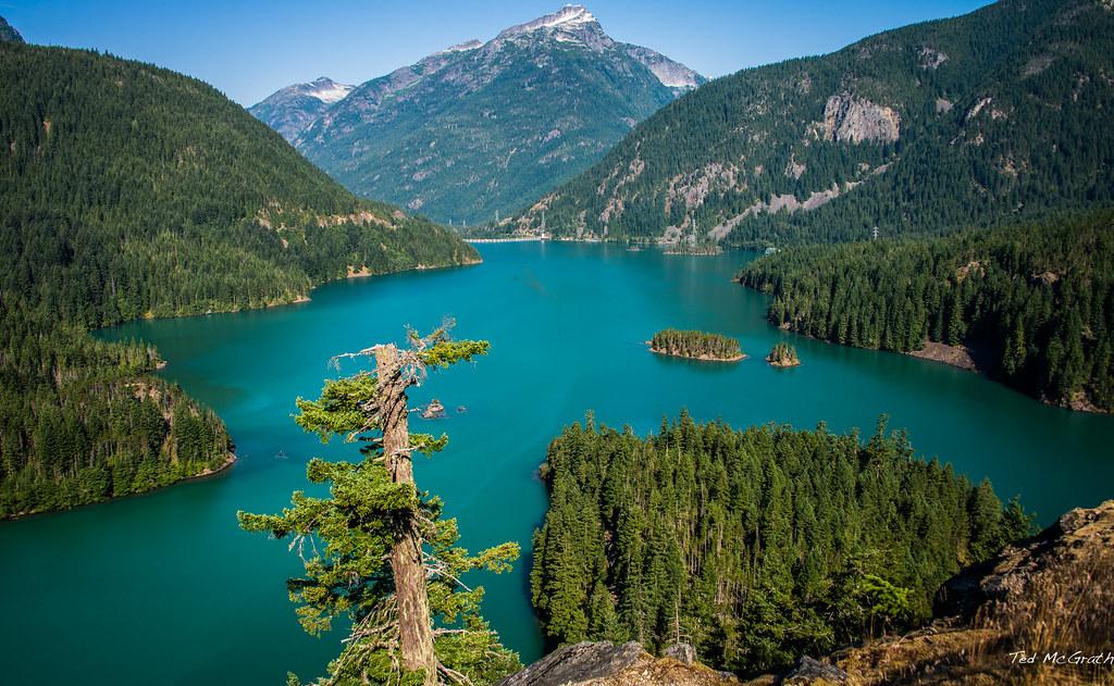 Desktop Background Wallpaper 3d 2015 Washington State Diablo Lake The North Cascades