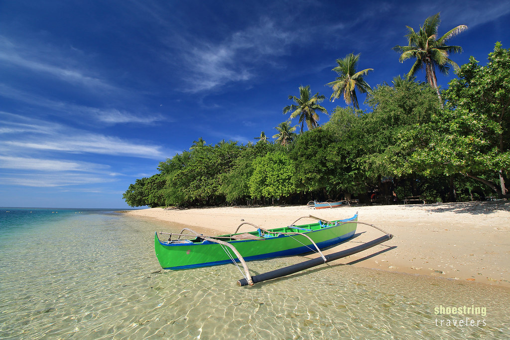 Morning Serenity Boat and beach scene at Potipot Island, Z\u2026 Flickr