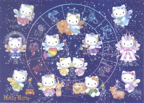 Purple 3d Wallpaper Hello Kitty Zodiac Which Sign Are You Kittyloaded