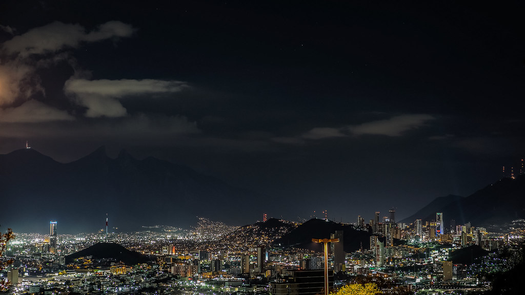 3d Wallpaper Night Sky Monterrey De Noche Update Rick Gonz 225 Lez Flickr