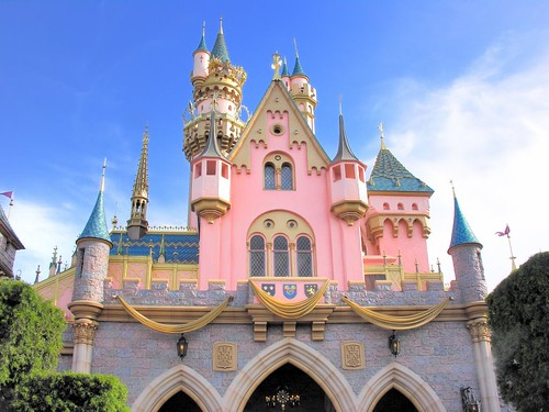 3d Cinderella Wallpaper Back Of Sleeping Beauty Castle At Disneyland Barry