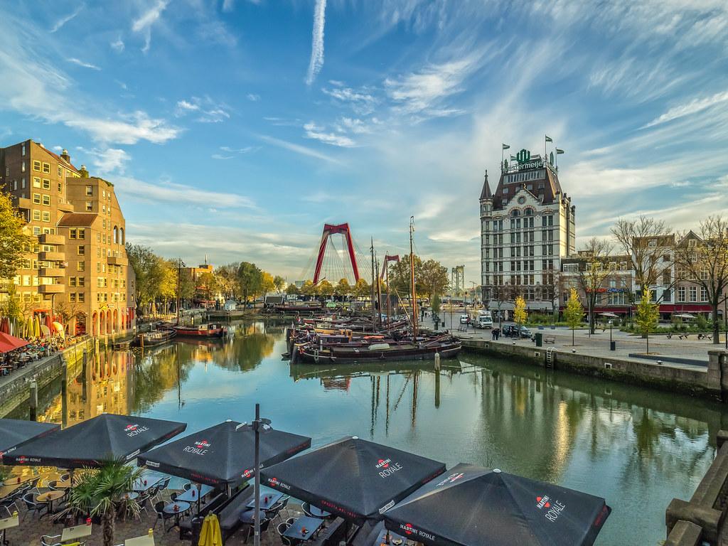 Wallpaper Hd 2017 Oude Haven City Of Rotterdam Met O A Het Witte Huis R