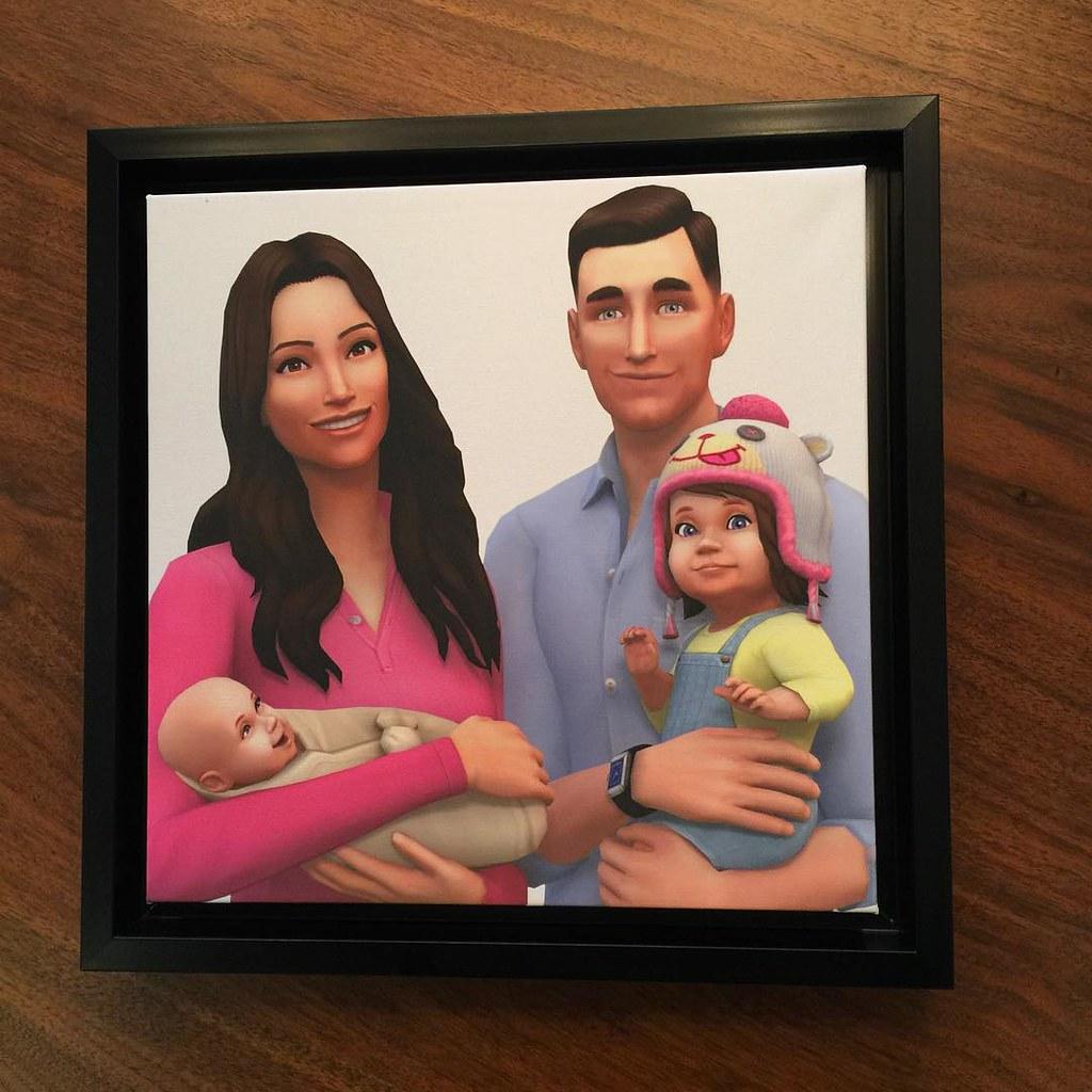 Les Sims 4 bambins