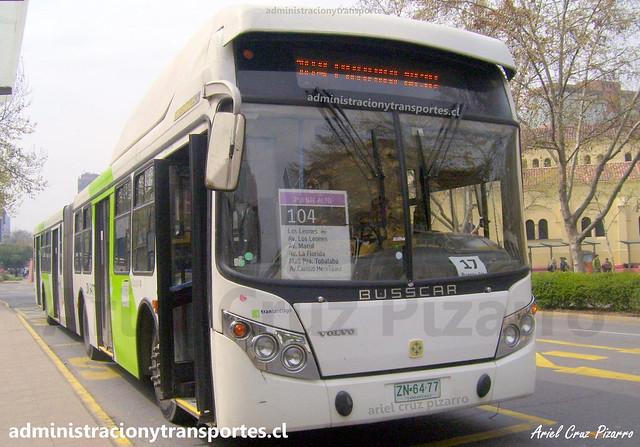 Transantiago 104 | Alsacia | Busscar Urbanuss - Volvo / ZN6477
