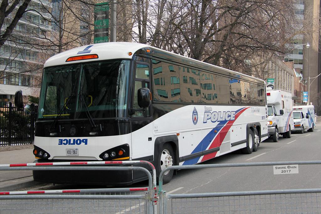 D Rarely Seen Toronto Police Bus Toronto Held Its Second